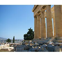 View of the Athens from the Acropolis Photographic Print