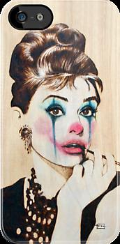 Audrey Hepburn by Fay Helfer