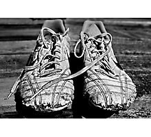 The Boy's Trainers Photographic Print