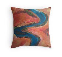 outback vein Throw Pillow