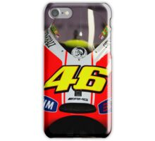 Front of Rossi's bike iPhone case iPhone Case/Skin