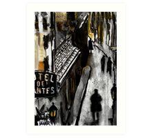 lane Art Print