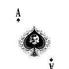 Ace of Spades iPhone Case by HostMigration