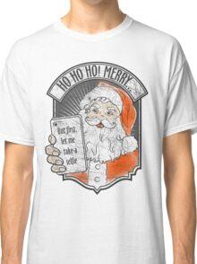 Santa Selfie Classic T-Shirt