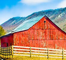 Old Red Barn by Greg Booher