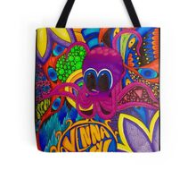 Psychedelic Octopus Tote Bag