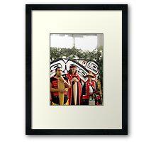 Haida Indians Framed Print