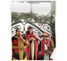 Haida Indians Poster