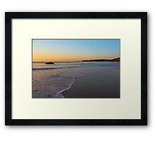 Jenny Dixon Beach Framed Print