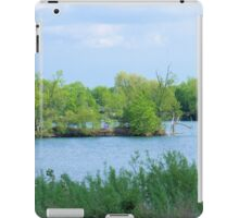 On a Small Island in a Small Pond in a Big World  iPad Case/Skin