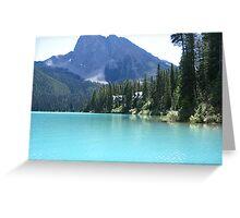 Emerald Lake, B.C. Greeting Card