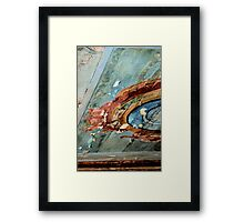 Not ThE aRt Of pEEliNg PaINt ... Framed Print