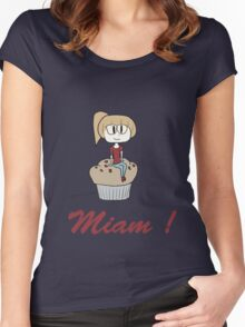 Miam! Women's Fitted Scoop T-Shirt
