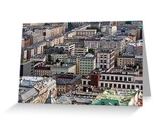 Warsaw, Poland. Greeting Card