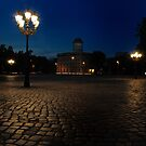 Berlin at night by pdsfotoart