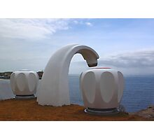 Sculptures by the Sea - Giant Tap Photographic Print