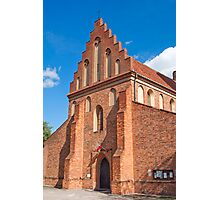 St. Mary's Church, Warsaw. Photographic Print