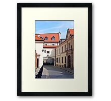 Warsaw Old Town. Framed Print
