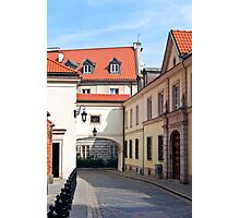 Warsaw Old Town. Photographic Print