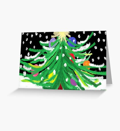 """Oy, Tannenbaum"" Greeting Card"