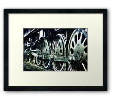Big Wheels Framed Print