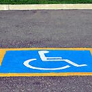 Handicapped reserved parking. by FER737NG