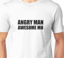 Angry Man Awesome Mo T-Shirt
