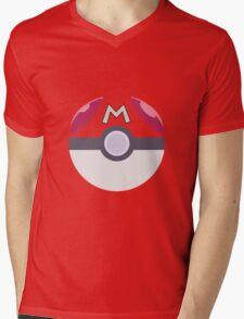 Pokemon - Master Pokeball Mens V-Neck T-Shirt