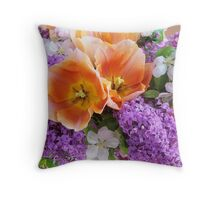Easter Bouquet #2 Throw Pillow