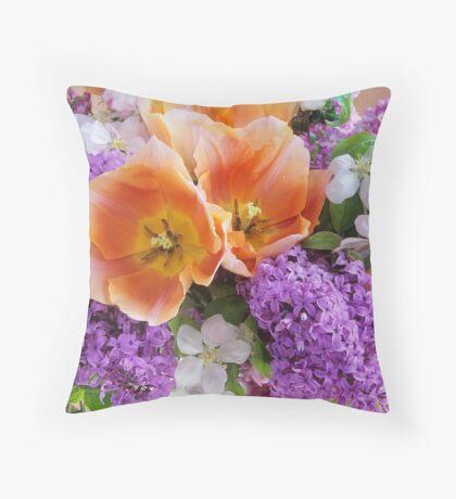 Easter Bouquet #2 Throw Pillow