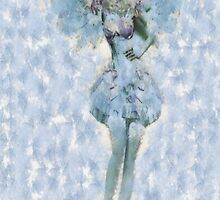 Winter Fairy iPhone Case by leapdaybride