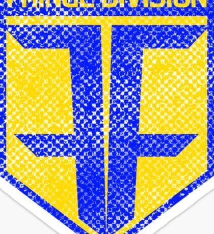 Fringe Division (alternate) Sticker