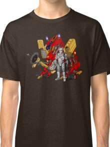 Upgraded Dalek with the robot master Classic T-Shirt