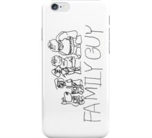 Family Pencil Sketch iPhone Case/Skin