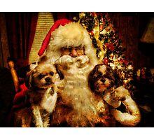 Make a Christmas Wish Photographic Print