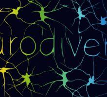 Neuron Diversity - Classic Rainbow Sticker