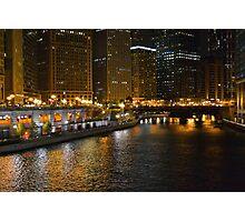Chicago After Dark Photographic Print