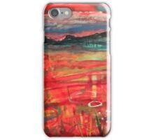 Indian summer sunset-Oban bay iPhone Case/Skin