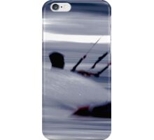 Kitesurfing - Riding the Waves in a Blur of Speed iPhone Case/Skin