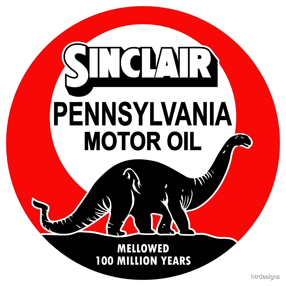 Quot Sinclair Motor Oil Vintage Sign Reproduction Flat