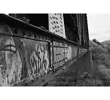 Trestle Rivets Photographic Print