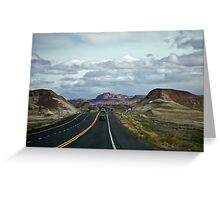 Traveling in Arizona Greeting Card