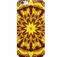 Golden Glow Kaleidoscope iphone iPhone Case/Skin