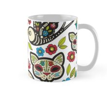 The seamless pattern of Day of the Dead Mug