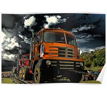 1959 Diamond T Cab Over Truck Poster