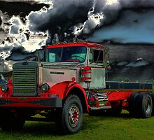 1959 DC 102A Autocar Diesel Truck by TeeMack