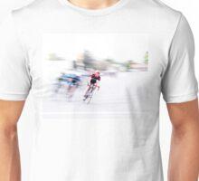 Speeding into the Curve Unisex T-Shirt