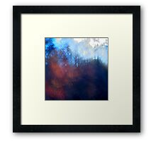 The Light from the Sky Framed Print