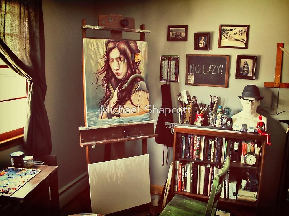 Artist's Studio 2011 by Michael  Shapcott