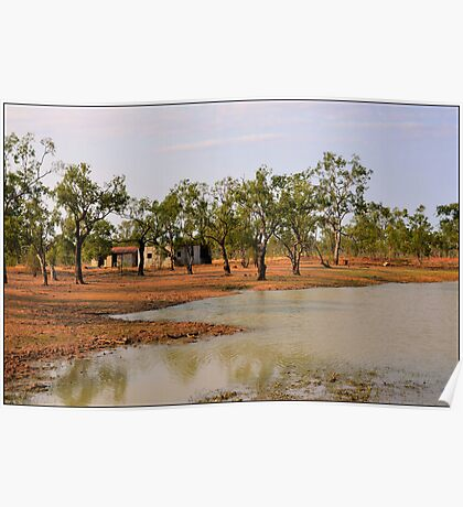 Waterhole Seclusion Poster